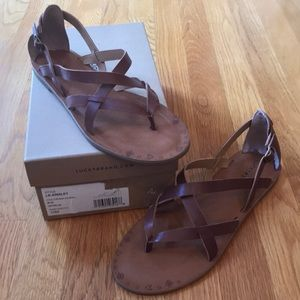 Lucky Brand Strappy Ainsley Sandals Size 10M